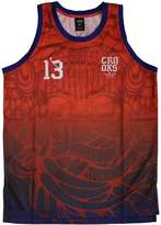 Crooks & Castles Trece Basketball Jersey Tank Top True