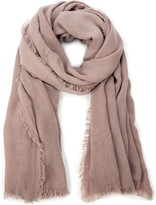 Sole Society Essential Raw Edge Scarf