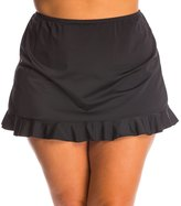 Fit 4 U Fit4U Swimwer Plus Size Ruffled Swim Skirt 8113552