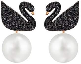 Swarovski Iconic Swan Ear Jackets