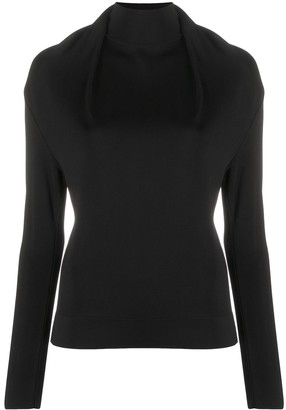 Nina Ricci High Neck Jumper