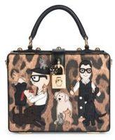 Dolce & Gabbana Family Leopard-Print Top Handle Bag