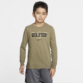 Nike Big Kids' (Boys') Basketball T-Shirt Dri-FIT