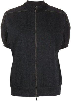 Brunello Cucinelli Short-Sleeve Jacket