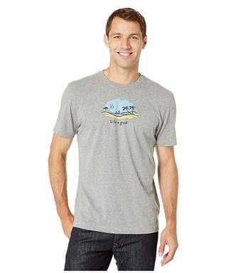 Life is Good Windsurf Vista Crushertm Tee
