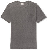 Faherty Slub Mélange Cotton-Jersey T-Shirt