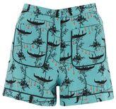 Topshop Gondola print pocket shorts