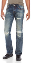 Cult of Individuality Side Zipper Rebel Straight Jeans