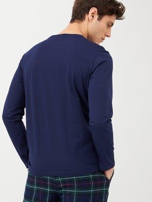 Polo Ralph Lauren Long Sleeved Lounge T-Shirt - Navy