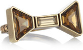 Marc by Marc Jacobs ID Bow crystal ring