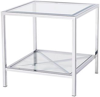 Blink Home Gardner End Table, Silver