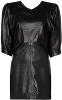 Isabel Marant Xadela pouf-sleeve mini dress
