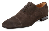 Christian Louboutin Suede Lace-Up Oxford