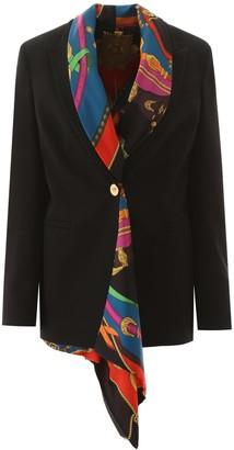 Versace Blazer With Detachable Silk Vest