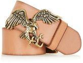 Topshop Eagle Leather Belt