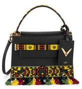 Valentino My Rockstud Small Jamaican Beaded Leather Bag