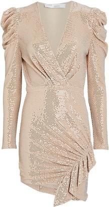 IRO Lou Lou Sequin Mini Dress