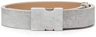 Maison Margiela Distressed-Effect Belt