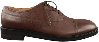 Maison Margiela Brown Leather Lace ups