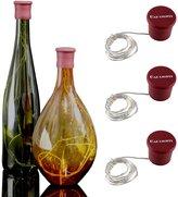 BLOOMWIN Patent Cap Light Cork Lights for Bottles Battery Powered Cork String Light for Christmas Wedding Party Cafe Bar 3Light Modes Flash Wine Bottle Decor Novelty Gifts (3 Pack, 7 Color)