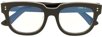 Gentle Monster Una C 01 square-frame glasses