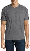 Zegna Sport Techmerino Jersey Short-Sleeve T-Shirt, Medium Gray