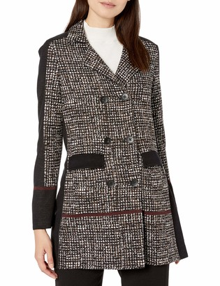 Nic+Zoe Women's Abstract Tweed Jacket