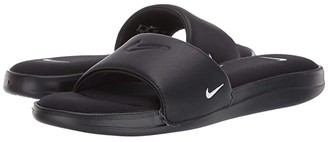 Nike Ultra Comfort 3 Slide (Black/White) Women's Slide Shoes