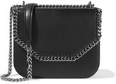 Stella McCartney The Falabella Box Faux Leather Shoulder Bag - Black
