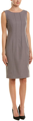 Lafayette 148 New York Debra Wool-Blend Sheath Dress
