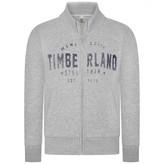 Timberland TimberlandBoys Grey Brushed Cotton Cardigan