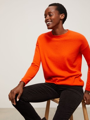 John Lewis & Partners Cashmere Relaxed Crew Neck Sweater