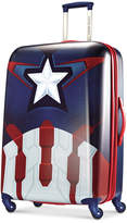 """Marvel 65% OFF Captain America 28"""" Hardside Spinner Suitcase by American Tourister"""