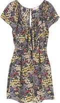Rebecca Taylor Wildflower silk tunic dress