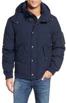 Schott NYC Men's Hooded Down Jacket