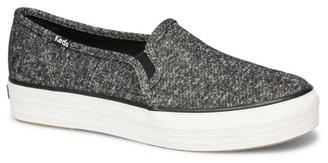 Keds Triple Decker Sparkle Platform Slip-On Sneaker - Women's