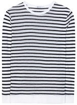 Alexander Wang Striped Jersey Top