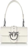 Pinko Mini Love Leather Shoulder Bag