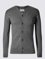 Marks and Spencer Cotton Blend Cardigan
