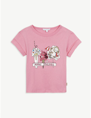 Little Marc Jacobs Ice cream graphic cotton-blend T-shirt 4-14 years