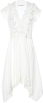 Ulla Johnson Lavinia Lace Asymmetric Dress