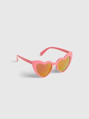 Gap Kids Heart Sunglasses