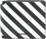 Lanvin striped logo wallet