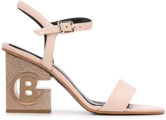 Baldinini 90mm Logo Sandals