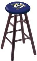 """NHL 24"""" Bar Stool Holland Bar Stool Finish: Dark Cherry, NHL Team: Nashville Predators"""