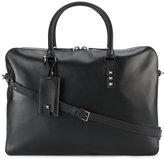 Valentino Garavani Valentino Rockstud briefcase - men - Leather - One Size