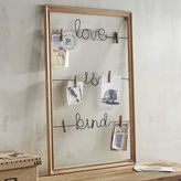 Pier 1 Imports Love is Kind Clip Wall Photo Holder