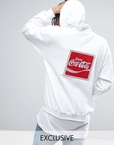 Reclaimed Vintage Inspired X Coca Cola Oversized Hoodie