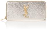 Saint Laurent Monogramme Zip Around Wallet