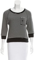 Boy By Band Of Outsiders Crew Neck Striped Sweater